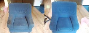 atpūtas krēsla ķīmiskā tīrīšana